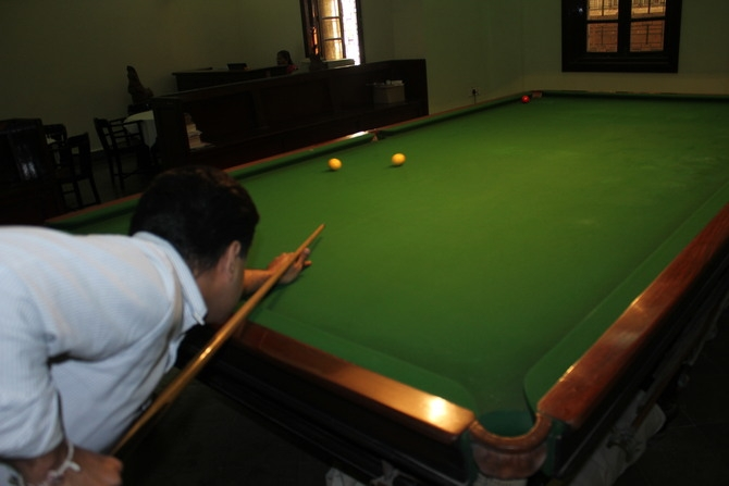 Billiards Table : Photography By Venkatesh A.G.